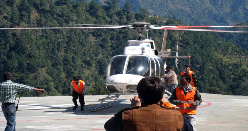 gangotri yamunotri Yatra by Helicopter images