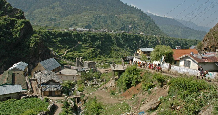 Yamunotri Village
